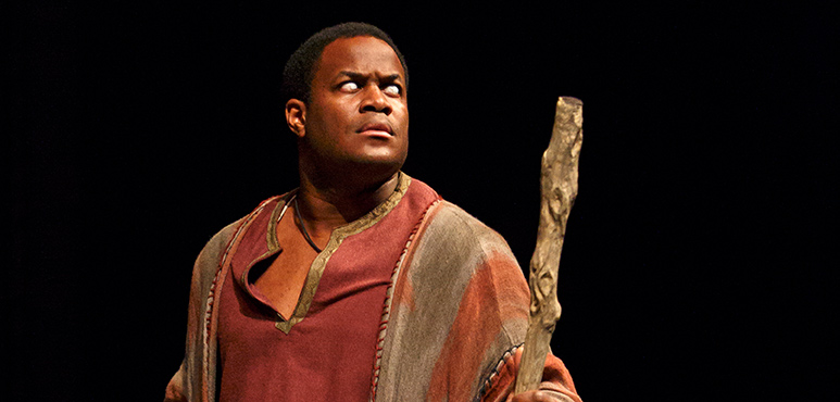 Matthew G. Brown as Soothsayer. Photography by David Hou.