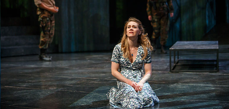 Amelia Sargisson as Desdemona in Othello. Photography by David Hou.