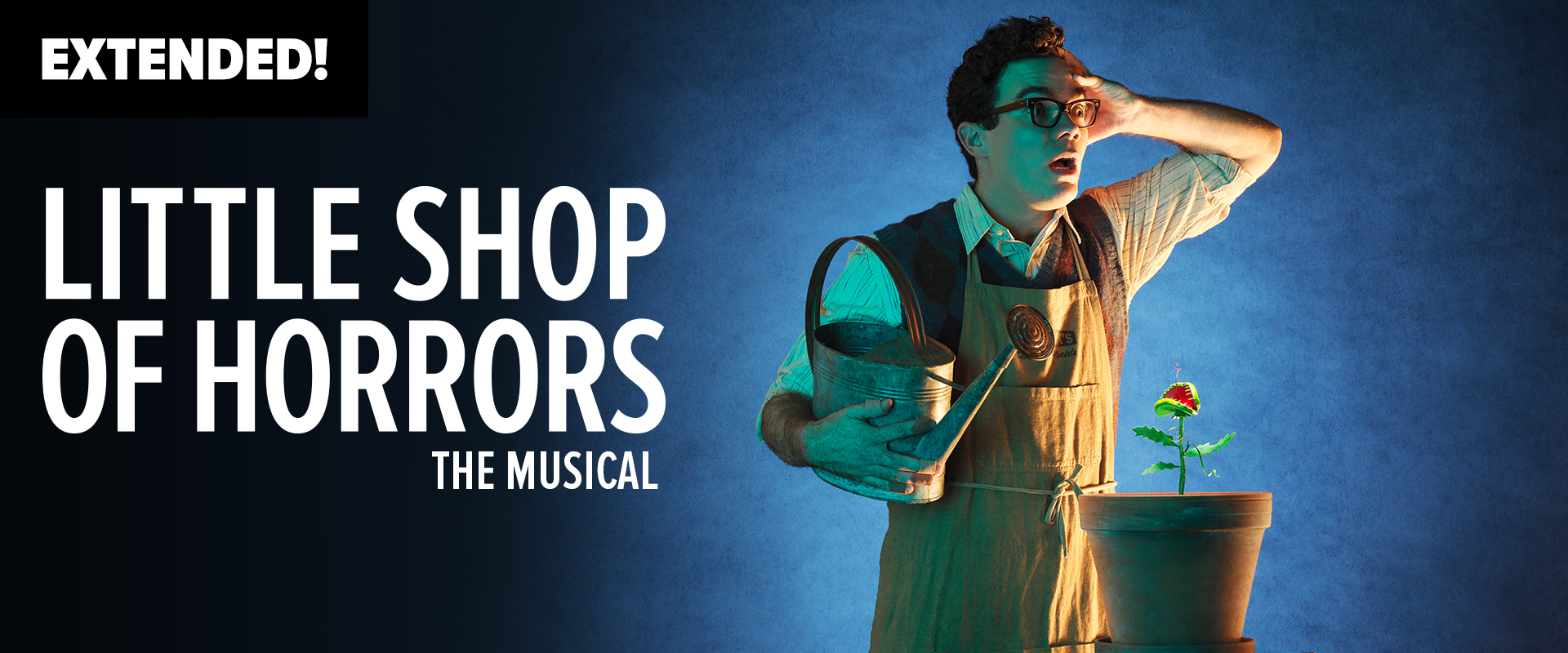 Publicity image from Little Shop of Horrors