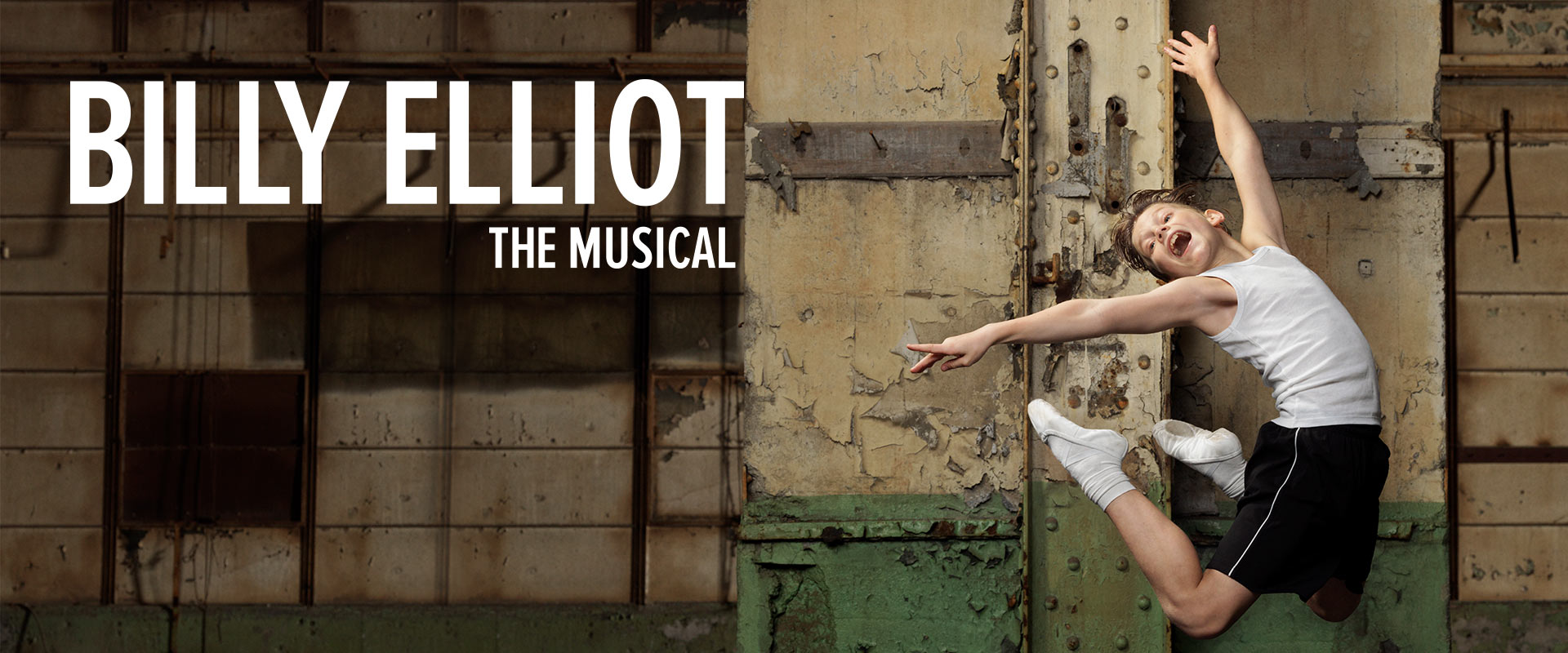 Publicity image from Billy Elliot the Musical