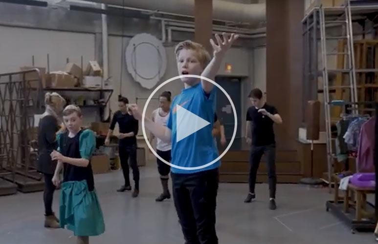 Sneak Peek: Billy Elliot the Musical Rehearsals