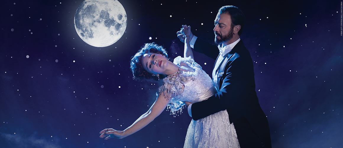 Publicity photograph from A Little Night Music featuring Cynthia Dale and Juan Chioran