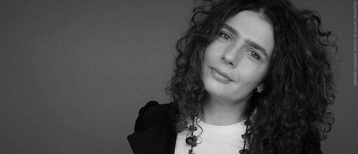 Headshot of Arsinee Khanjian.