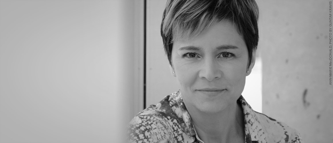 Headshot of Ann-Marie MacDonald.