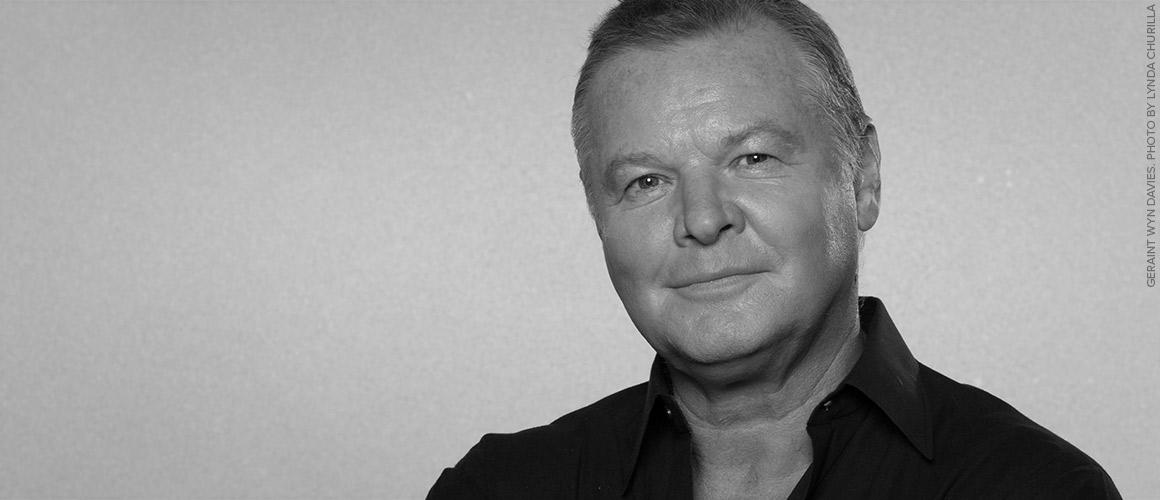Headshot of Geraint Wyn Davies.