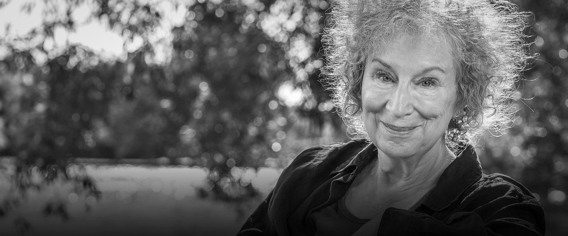 Photograph of Margaret Atwood