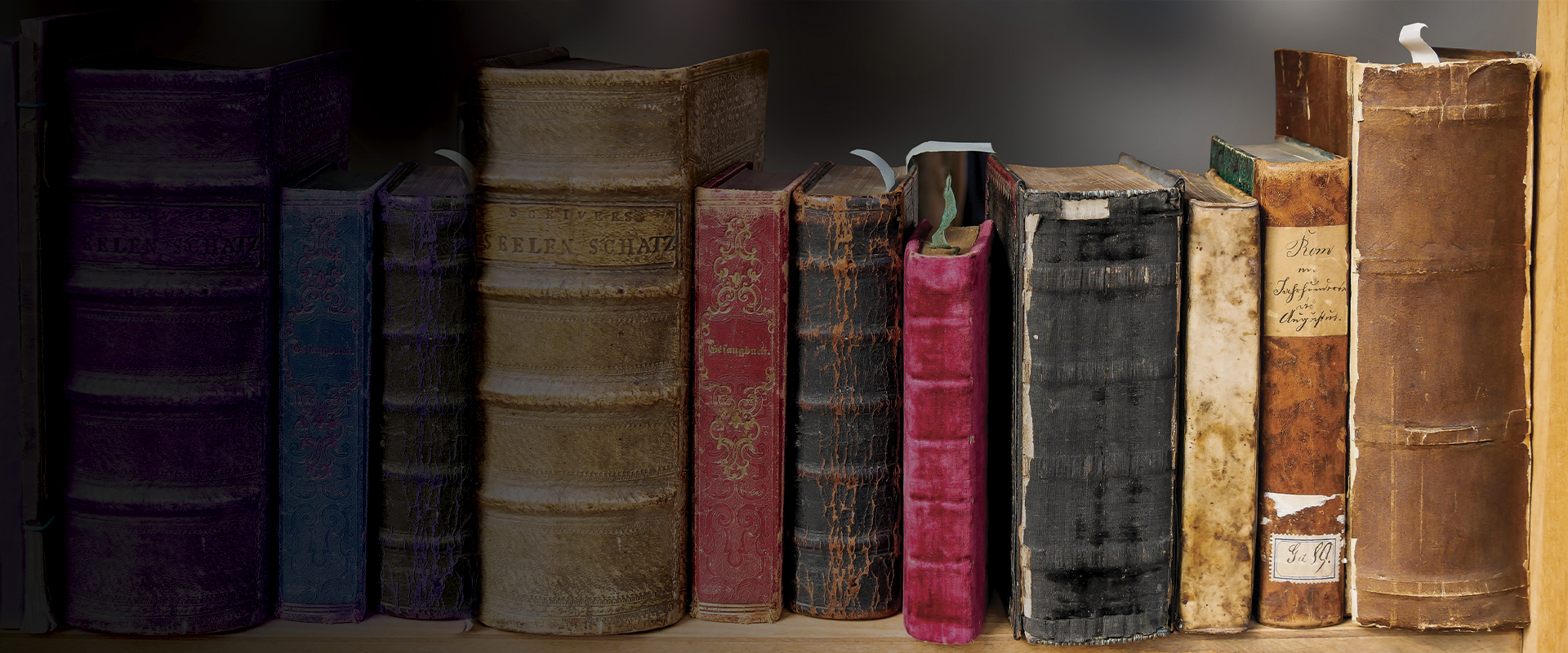 Stock photograph of books