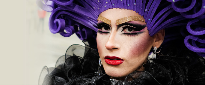 image of a drag queen