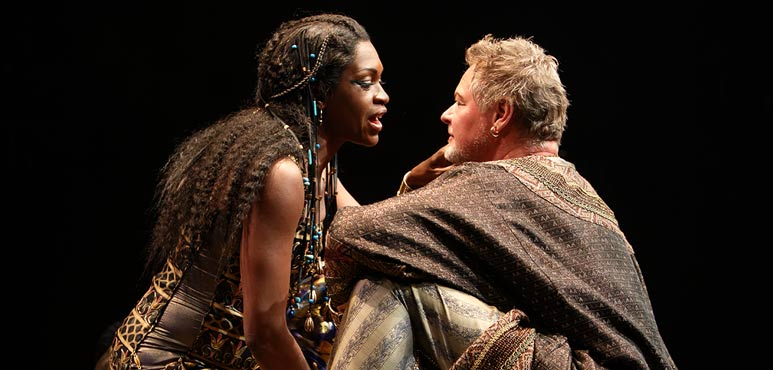 Production photo from Antony and Cleopatra