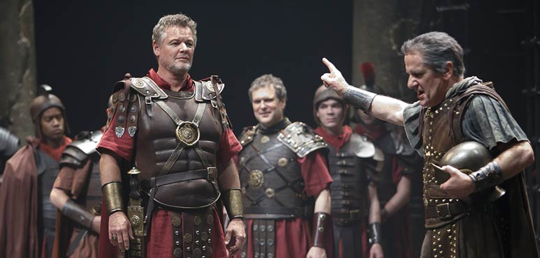 Production photo from Antony & Cleopatra