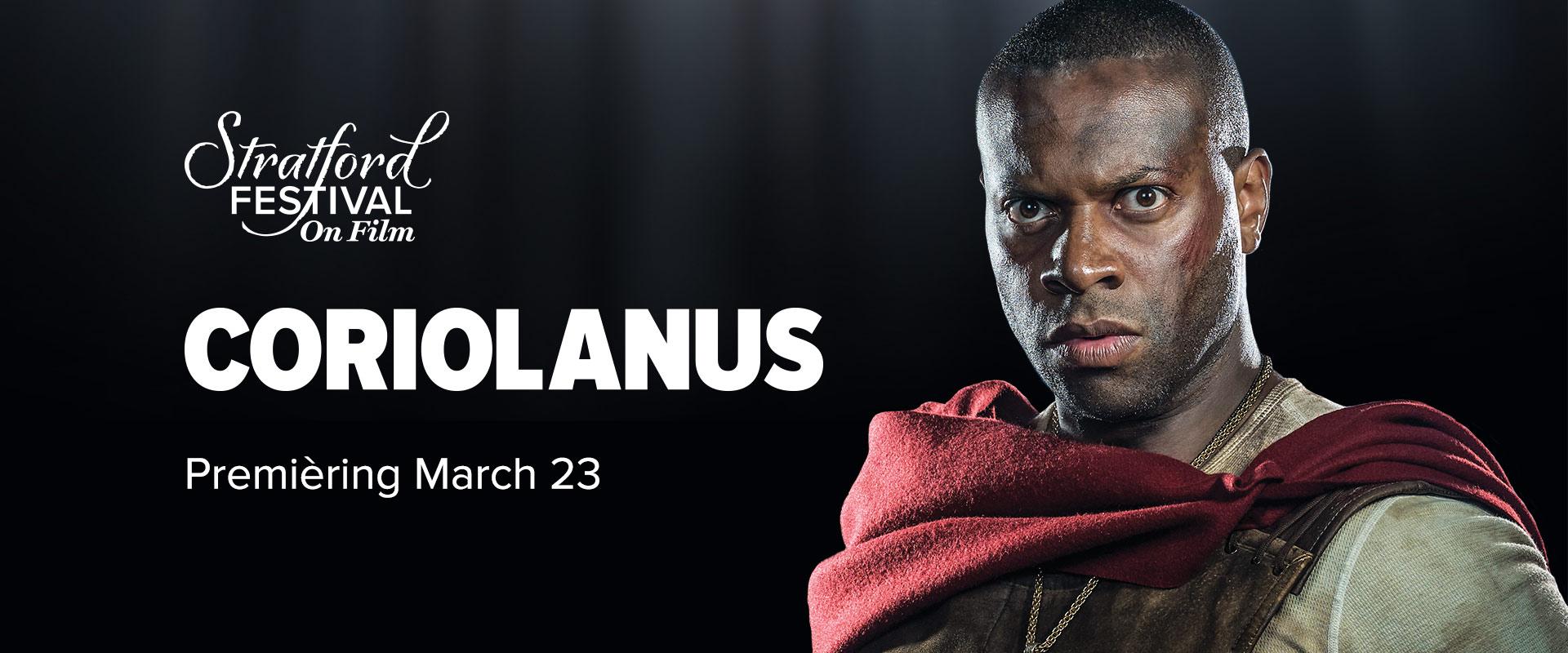 Publicity image from Coriolanus